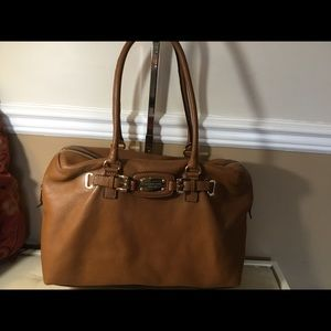 Michael Kors Leather Overnight Bag - Super Soft